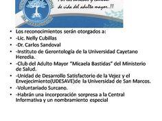 """DE TODOS MODOS EL 8 DE ABRIL SERÁ EL EVENTO""""ADULTO MAYOR PERÚ"""" EN LA PERLA.   Central Informativa del Adulto Mayor"""