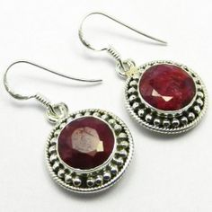 #Awesome 925 #Sterling #Silver #Handmaded #Ruby  #Gemstone #Earring for #Women #We #deals in all types of #jewelry like #Children's #Jewelry #Engagement & #Wedding #Ethnic, #Regional & Tribal, #Fashion #Jewelry #Fine #Jewelry #Handcrafted #Artisan #Jewelry #Jewelry #Design & #Repair #Men's #Jewelry #Vintage & #Antique #Jewelry #Wholesale #Lots so #please ask us if you have any #enquiry