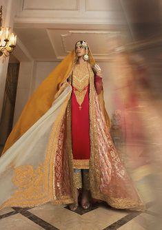 Red Kurta set with gold and silver zari work   Manish Malhotra Red Kurta, Nikkah Dress, Manish Malhotra, You Lost Me, Indian Designer Outfits, Sari, Princess Zelda, Bride, Silver