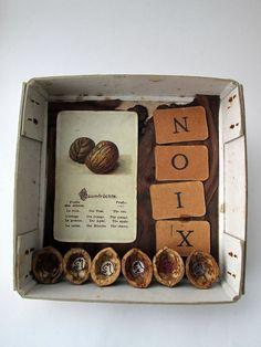 mano kellner, art box nr 361, noix (sold)