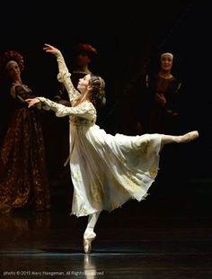 "Bavarian State Ballet's ""Romeo and Juliet"" Katherina Markowskaja. © 2015 Marc Haegeman. All Rights Reserved. Munich, Nationaltheater, 24 January 2015."