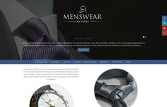 Menswear Antwerp - ‪#‎fashion‬ style ‪#‎Joomlatemplate‬ with stylish ‪#‎layout‬ & ‪#‎responsive‬ ‪#‎design‬