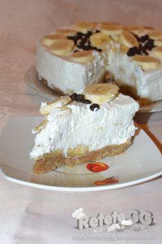 Retete gustoase si garnisite: Cheesecake cu banane
