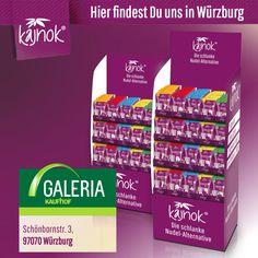 Hier findest Du kajnok im Galeria Kaufhof Würzburg. Personal Care, Alternative, Noodle, Slim, Germany, Personal Hygiene