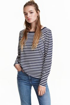 Long-sleeved jersey top | H&M