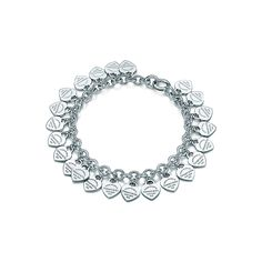 Return to Tiffany™:Multi–heart Tag Bracelet