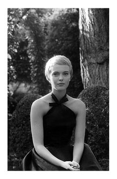Jane Seberg, Orleans, August 1957 - Photographed by Claude Azoulay