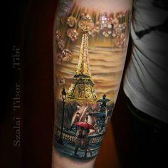 Impressive realism by Tibor Szalai Tibi - cu Jade-lee Kruger. (FireCs.ro-Modele de tatuaje!)