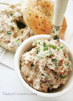 Bacon-Green Onion Cream Cheese Spread