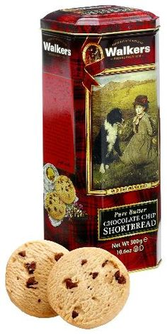 """Walkers """"Which Hand Will You Take?"""" Chocolate Chip Shortbread TIn"""