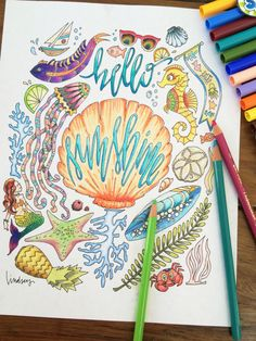 A personal favorite from my Etsy shop https://www.etsy.com/listing/250077528/encourage-and-uplift-an-adult-coloring