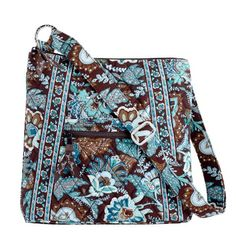 $56.00 Handbags  Vera Bradley New Style Cross Body Hipster in Java Blue - New metal Vera Bradley logo rings and buckle decorate this classic redesigned quilted cotton hipster in fabulous Java Blue! http://www.amazon.com/dp/B004AARDCE/?tag=pin0ce-20