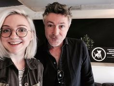 Aidan Gillen and fan girl