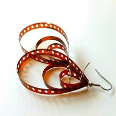 Spotlight on... your old negatives! Turn them into quirky earrings with this simple tutorial.