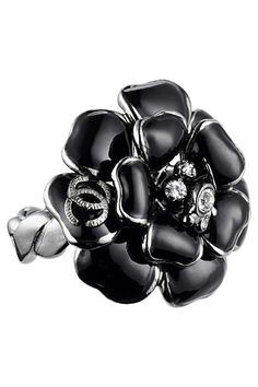 ... and the ring!  camellia ring, by chanel