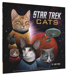 Star Trek Cats this is too fabulous to go anywhere else tbh
