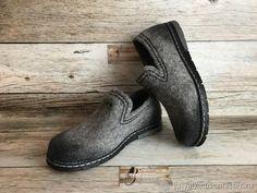 8f1f333a19f5 Купить Мокасины валяные - подарок, обувь, подарок маме, обувь из войлока,  обувь ручной работы