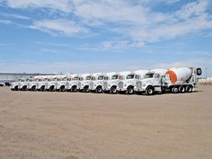 Peterbilt 357 Tri/A mixer trucks Ready Mixed Concrete, Cement Mixer Truck, Concrete Mixers, Peterbilt Trucks, Truck Accessories, Old Trucks, Heavy Equipment, Tractors, Trucks