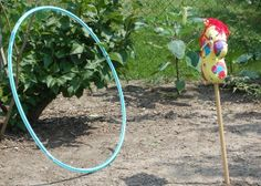Lasso Bullseye...toy story party game
