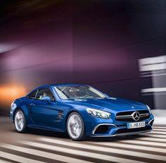 la nouvelle version 2018 de la Mercedes 500 SL... Pas dégueu !...