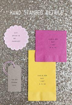 We love this simple DIY from Something Turquoise using the Martha Stewart Crafts Stamp Designer and Coasters! #marthastewartcrafts #12monthsofmartha