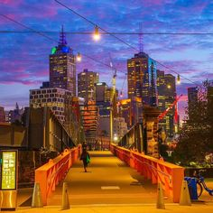 "Melbourne on Instagram: ""With cloudy skies marking the changing of the seasons, crisp mornings make the day's first sip of coffee even more satisfying. Melbourne is…"" Yellow Brick Road, Victoria Australia, Australia Travel, Melbourne, Sydney, San Francisco Skyline, New York Skyline, Tourism, Have Fun"
