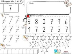 7 Primary School, Pre School, Number Sense, Math Activities, Essie, Homeschool, Diagram, Teaching, Education