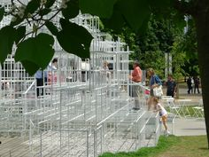 A fun space to climb and play - Serpentine Pavilion 2013