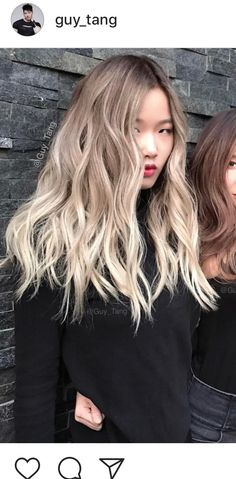 Guy tang blonde asian summer hair в 2019 г. Guy Tang Blonde, Guy Tang Balayage, Asian Hair Blonde Balayage, Asian Hair Dye, Guy Tang Hair, Hair Color Asian, Ombre Blond, Dyed Blonde Hair, Blonde Highlights