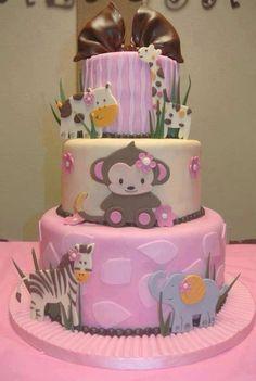 Cute baby cake