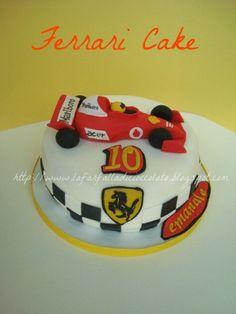 Cake Decorating Quorn : (1) Le mie creazioni : ) Auto piste ferrari Pinterest