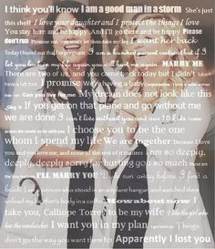 the story of Calzona. I LOVE IT.