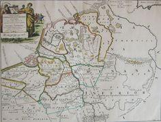 Nederland, België, Duitsland; M. Alting en H. en F. Halma - Summaria Descriptio Germaniae Inferioris Antiquae (...). - 1725