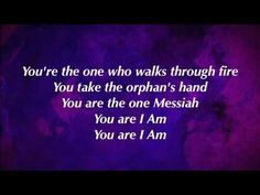 You Are I Am ~ MercyMe. You can't not like this band :) This song is great to remind yourself (or let others know) that your Savior is the same God of all those amazing Biblical passages!