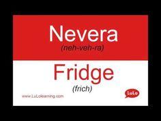 Nevera en Inglés = Fridge in Spanish