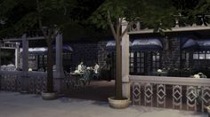 Hedman's Hideaway Restaurant by Monster without name at Mod The Sims via Sims 4 Updates