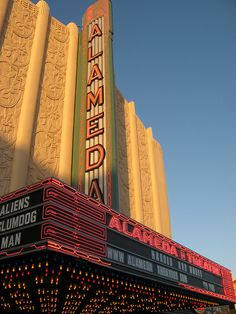 Alameda Theater  Alameda, CA