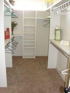 Closet Ideas For Small Walk In Closets Small Walk In