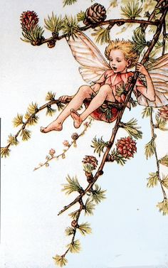 Fairy, a spring Flower Fairy poem by Cicely Mary Barker in Fairy Rings