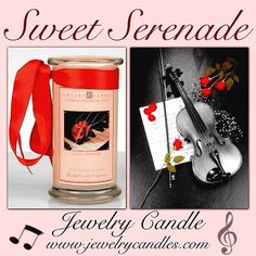 <3 Sweet Serenade <3. By www.jewelrycandles.com !