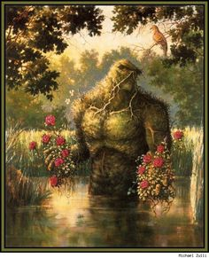 Swamp Thing by Michael Zulli