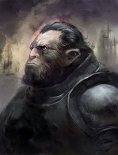 [Science fiction art] Warlord by anttonen at Epilogue Dnd Races, Dark Men, Sword And Sorcery, Science Fiction Art, Post Apocalyptic, A Good Man, Character Art, Sci Fi, Concept