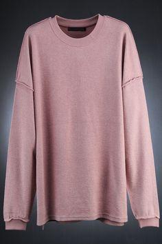 Towel Fabric Made Cutting Custom Over Fit Sweatshirts