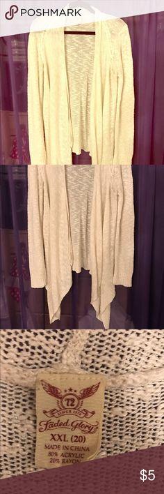 Cozy cardigan💖 Nice & cozy ❤️ Faded Glory Tops Sweatshirts & Hoodies