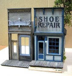 S-Scale - Dioramas - Model Railroad Forums - Freerails Old Western Towns, Model Train Layouts, Le Far West, Woodworking Workshop, Miniature Houses, Model Building, Classic Toys, Small World, Model Trains