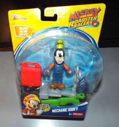 Disney Mickey and the Roadster Racers MECHANIC GOOFY Action Figure #Disney