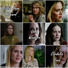 Billie in Muder House | Lana in Asylum | Cordelia Foxx in Coven
