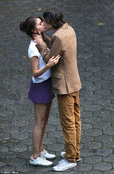 Kiss me quick! Selena Gomez packed on the PDA with actor Timothee Chalamet as they shot sc...