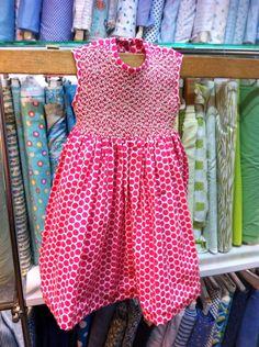 Vestido de algodón Americano.  Alumna mayo 2015