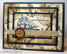 Stampin Up! The Open Sea Fathers Day Card - Christy Fulk, Stampin Up Demo